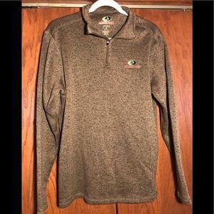 Mossy Oak 1/4 zip sweater size M